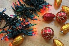 Het Verfraaien van de Vakantie van Kerstmis stock afbeelding