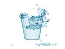 Het verfrissen zich van het water royalty-vrije stock foto's