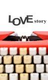 Het verhaal van de liefde Royalty-vrije Stock Foto's