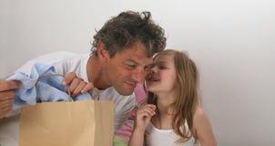 Het verhaal van de vader en van de dochter Royalty-vrije Stock Fotografie