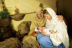 Het verhaal van Kerstmis Royalty-vrije Stock Fotografie