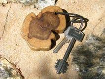Het verhaal van sleutels Stock Afbeelding