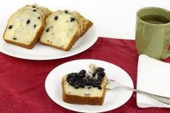 Het verheugen zich op Ontbijt Stock Foto's