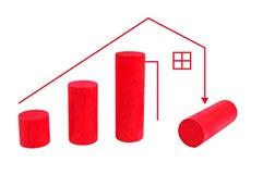 Het verhogen van uw leningen Stock Foto's