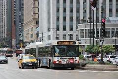 Het Verkeer van Chicago Royalty-vrije Stock Afbeeldingen
