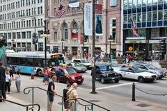 Het Verkeer van Chicago Royalty-vrije Stock Foto's