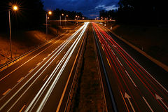 Het Verkeer van de auto Stock Foto's