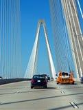 Het Verkeer van de brug Stock Foto's