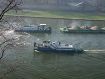 Het verkeer van de rivier Royalty-vrije Stock Foto's
