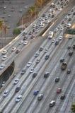 Het verkeer van de snelweg Royalty-vrije Stock Afbeelding