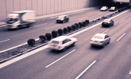 Het verkeer van de stad Royalty-vrije Stock Afbeelding