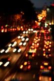 Het verkeer van de stad