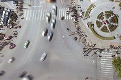 Het verkeer van de stad Stock Foto's