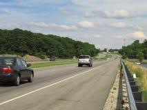 Het Verkeer van de weg stock foto