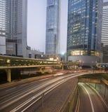 Het Verkeer van Hongkong Stock Foto's