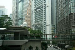 Het verkeer van Hongkong Stock Foto