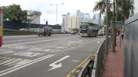 Het verkeer van Hongkong stock videobeelden