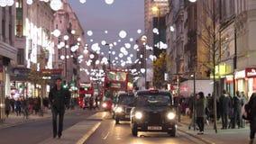 Het verkeer van Londen stock video