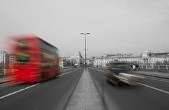 Het Verkeer van Londen Royalty-vrije Stock Foto