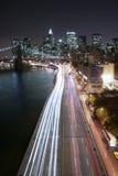 Het verkeer van Manhattan Royalty-vrije Stock Foto