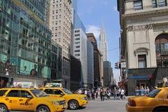 Het verkeer van Manhattan, Royalty-vrije Stock Afbeelding
