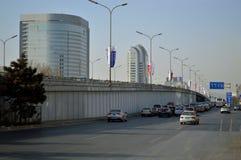 Het verkeer van Peking Stock Foto