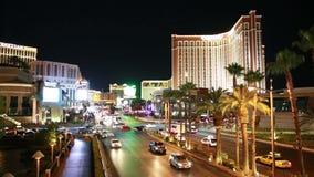 Het verkeer van Vegas van Las stock video