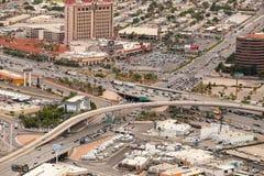 Het verkeer van Vegas van Las Royalty-vrije Stock Foto