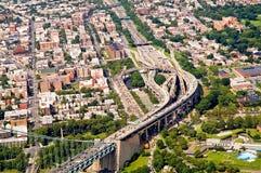 Het verkeerscongestie van New York Royalty-vrije Stock Afbeelding