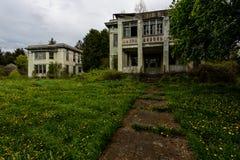 Het verlaten Allegheny-Armenhuis van de Provincie - New York royalty-vrije stock foto's