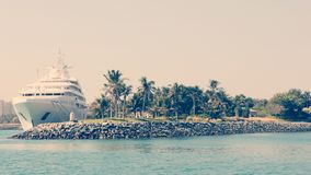 Het verlaten eiland Stock Afbeeldingen