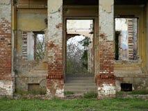 Het verlaten kasteel Royalty-vrije Stock Foto's