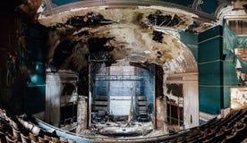 Het verlaten Theater van Paramount - Youngstown, Ohio stock fotografie