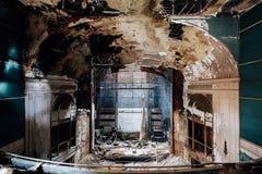 Het verlaten Theater van Paramount - Youngstown, Ohio royalty-vrije stock foto's