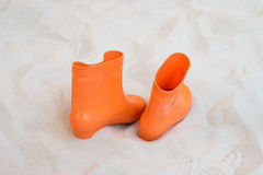 Het verlaten van schoenen Stock Afbeelding