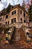 Het verlaten ziekenhuis Stock Fotografie