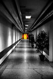 Het verlaten ziekenhuis Stock Afbeelding