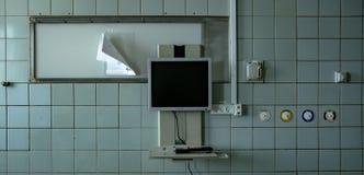 Het verlaten ziekenhuis Royalty-vrije Stock Fotografie