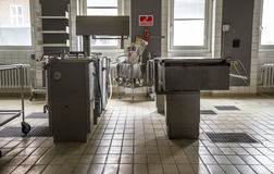Het verlaten ziekenhuis Stock Foto