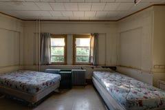De Gordijnen Van Het Ziekenhuis Stock Foto - Afbeelding bestaande ...