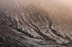 Het verleden in lava Royalty-vrije Stock Afbeeldingen