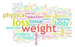 Het Verlies van het gewicht Stock Foto's