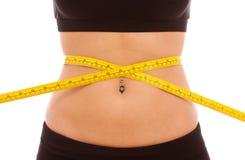 Het Verlies van het gewicht stock foto