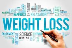 Het verlies van het gewicht