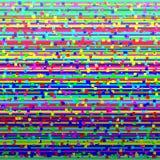 Het verlies van het televisiesignaal bedierf beeld Kleurrijke abstracte achtergrond vector illustratie