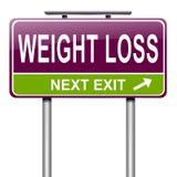 Het verliesconcept van het gewicht. Stock Foto's
