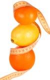 Het verliespiramide van het gewicht Stock Foto's
