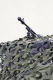 Het vermomde zware machinegeweer Royalty-vrije Stock Afbeelding