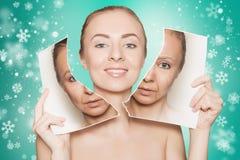 Het vernieuwen van huid stock foto