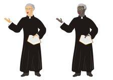 Het verordende minister prediken vector illustratie